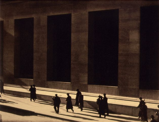 Wall Street, Paul Strand, 1914